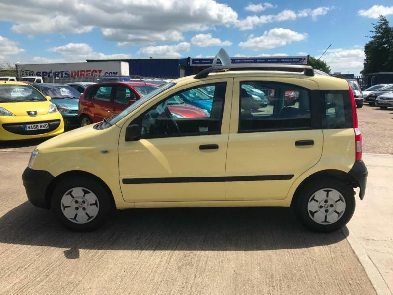 2008 fiat panda 1 1 active yellow 5dr hatchback any px welcome in lincoln lincolnshire. Black Bedroom Furniture Sets. Home Design Ideas
