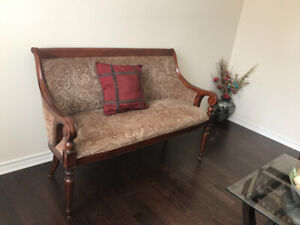 Bombay's chairs and settee