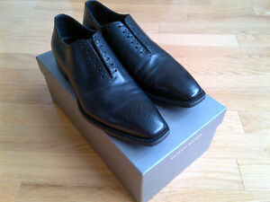 Quality Dress Shoes (Antonio Maurizi) black and brown pairs