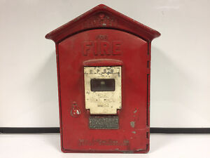GAMEWELL co Fire alarm Box Antique