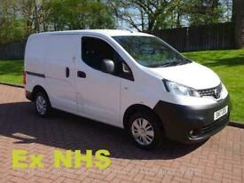 2017 Nissan NV200 dCi Acenta Ex NHS Panel Van Diesel Manual