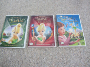 Three Tinker Bell Movies on DVD