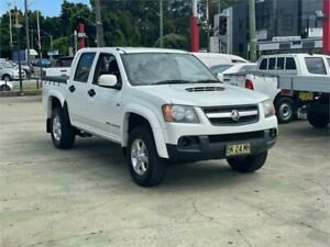 2011 Holden Colorado RC MY11 LX (4x4) White 5 Speed Manual Crew Cab Pickup Clyde Parramatta Area Preview