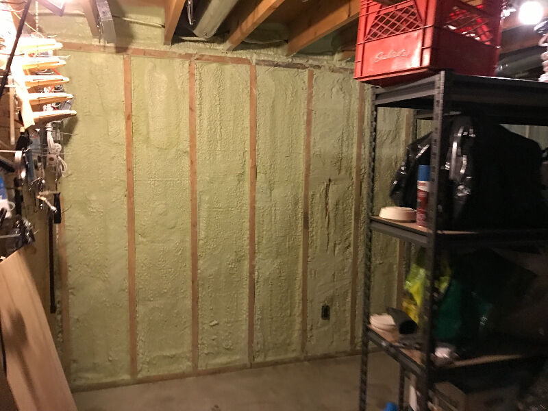 T Amp T Insulation S Spray Foam Blown In Batts Insulation