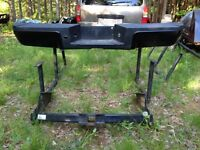 2011 ford super duty rear bumper and hitch