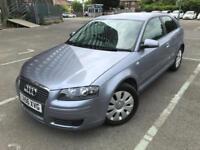 2006 (56) Audi A3 1.6 auto SE CVT Grey Full Black Leather Bargain Price