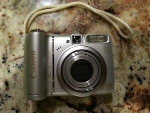 Canon Silver Power Shot A580 8.0 Mega Pixels 4X Zoom