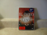 New in plastic IL DIVO Live at the Greek Theatre DVD