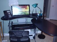 computer, desktop, keyboard, mouse & chair for sale