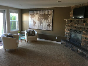 West Side Downstairs Rental Suite $1400 utilities inc. w GARAGE!