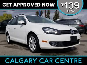 2013 VW Golf $139B/W TEXT US FOR EASY FINANCING! 587-582-2859