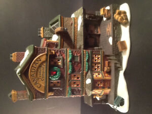 "Department 56 ""Canadian Trading Co. "" Dicken's Village 1997"