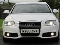 SOLD SOLD 2010 Audi A6 Saloon 2.0TDI S-LINE *FACE LIFT MODEL**GLACIER WHITE**