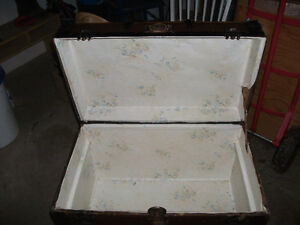 ANTIQUE TRUNK-GREAT SHAPE FOR SALE! Other Items too!