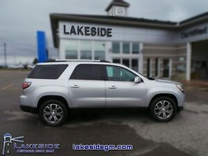 2013 GMC Acadia SLT-2  - one owner - local - trade-in - non-smok