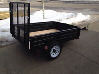 "74"" X 54"" Atv/Landscape Trailer-Only $800"