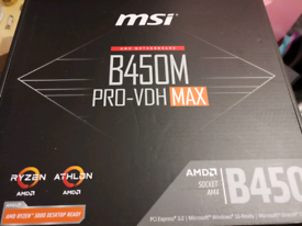 MSI B450m Pro vdh MAX