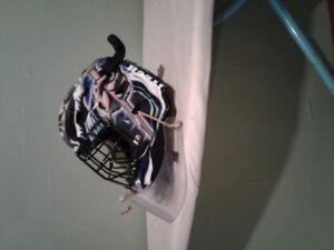 Itech Goalie Mask...only used four months