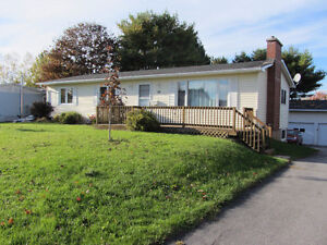 3 Bay Garage, 4 Bedroom Home, Move-In Ready-Lots of Opportunity!