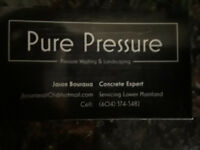 Pure Pressure- Pressure washing/ Landscaping