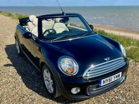 image for Mini 1.6 Cooper 2dr Convertible, 2011, Black, FSH, Cheap Tax, HFS, Leather
