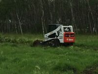 Excavator and Skid Steer For Hire