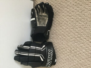Gently used Jr hockey gloves (smoke free home)