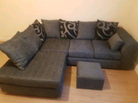 Zina Chenielle Corner Sofas