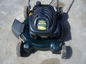 2-YARDWORKS PUSH/SELF-PR0 LAWN-MOWER 6hp.