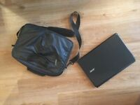 REDUCED Laptop and laptop bag - acer aspire