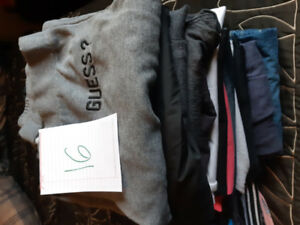 Clothing size L and 10