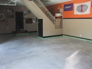 Polished Concrete & Epoxy Coated Garage & Basement Floors Kitchener / Waterloo Kitchener Area image 2