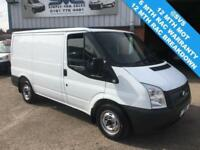 2013 62 FORD TRANSIT SWB LOW ROOF T300 100BHP EX M.O.D WITH FSH AIR CON CHOICE!