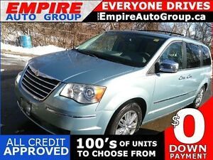 2008 CHRYSLER TOWN AND COUNTRY LIMITED * LEATHER * REAR CAM * LO