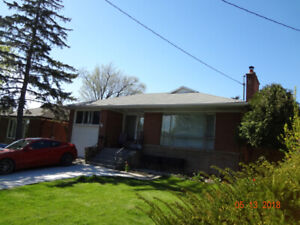 Basement For Rent in Etobicoke/Rathburn/Eglinton/Kipling