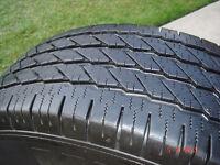 4 - Michelin LTX tires LT265/70R/17 A/S , load range E