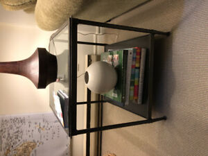 Pair of Contemporary Crate and Barrel Side Tables  - like new!