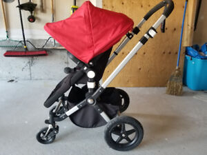 """*SOLD* Bugaboo """"Cameleon"""" Stroller with Canopy and Bassinet"""