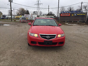 2004 ACURA TSX ★ LOW KM ★ LEATHER ★ HEATED SEATS ★ PENDING SALE London Ontario image 2