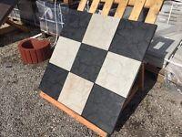 Paving slabs 30x30cm three colours