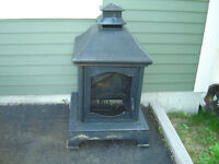 outdoor fire pit never used
