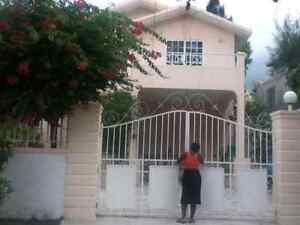 Maison à louer en Haïti