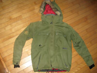 Liquid-Boardwear-Mens-Snowboard-Ski-Jacket-Size Small(like new)