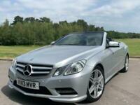 2013 Mercedes-Benz E Class E250 CDI BLUEEFFICIENCY SPORT Auto Convertible Diesel