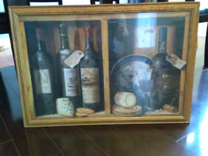 Art Picture Wine/Cheese