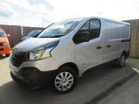RENAULT TRAFIC TRAFFIC BUSINESS VAN 1.6 DCI SL27 115 BHP 2014 S/H SILVER VGC