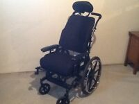 Concept 45 tilt&adjustable wheelchair