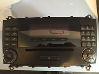 Mercedes stereo radio CD player