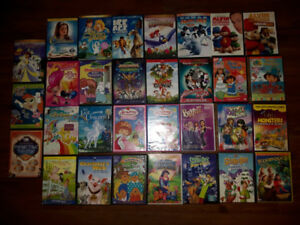Kid's movie collection 30 DVD's & others too - L@@k READ AD