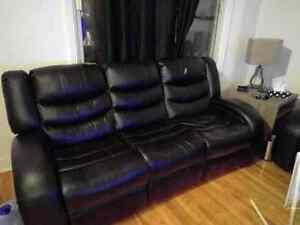 Reclining couch / sofa 500$ negotiable